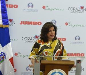 Foto 3 - La vicepresidenta Margarita Cedeño.