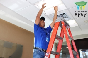 Equipo mantenimiento - bombillas led