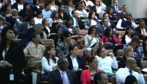 Parte del público que asistió a la actividad.