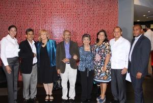 Silvia Rosales, Jesús Moreno, Ivonne Arias, Cesar Rodríguez, Idelisa Bonelly y otros representantes de organizaciones.