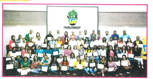 Voluntarios Asociación Popular se capacitan en Voluntariado