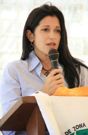 Foto 2 -  Claudia Pellerano presidenta de ZF Las Américas