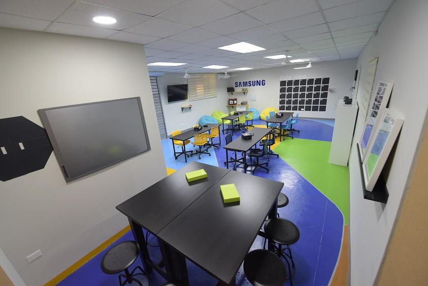 El Innovation Space es parte de los premios obtenidos por el centro educativo al ganar el concurso Soluciones para el Futuro