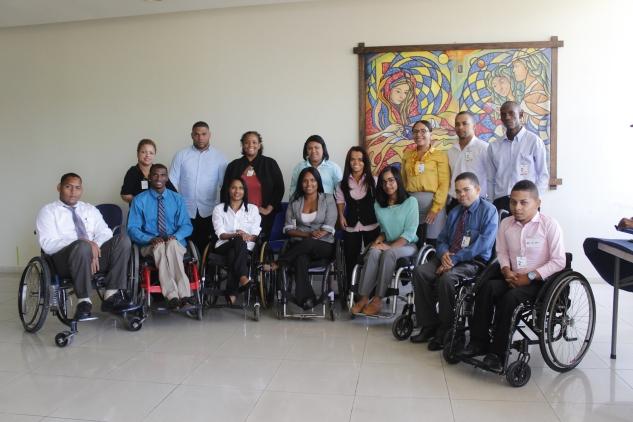 Primer taller de orientación laboral para personas con discapacidad