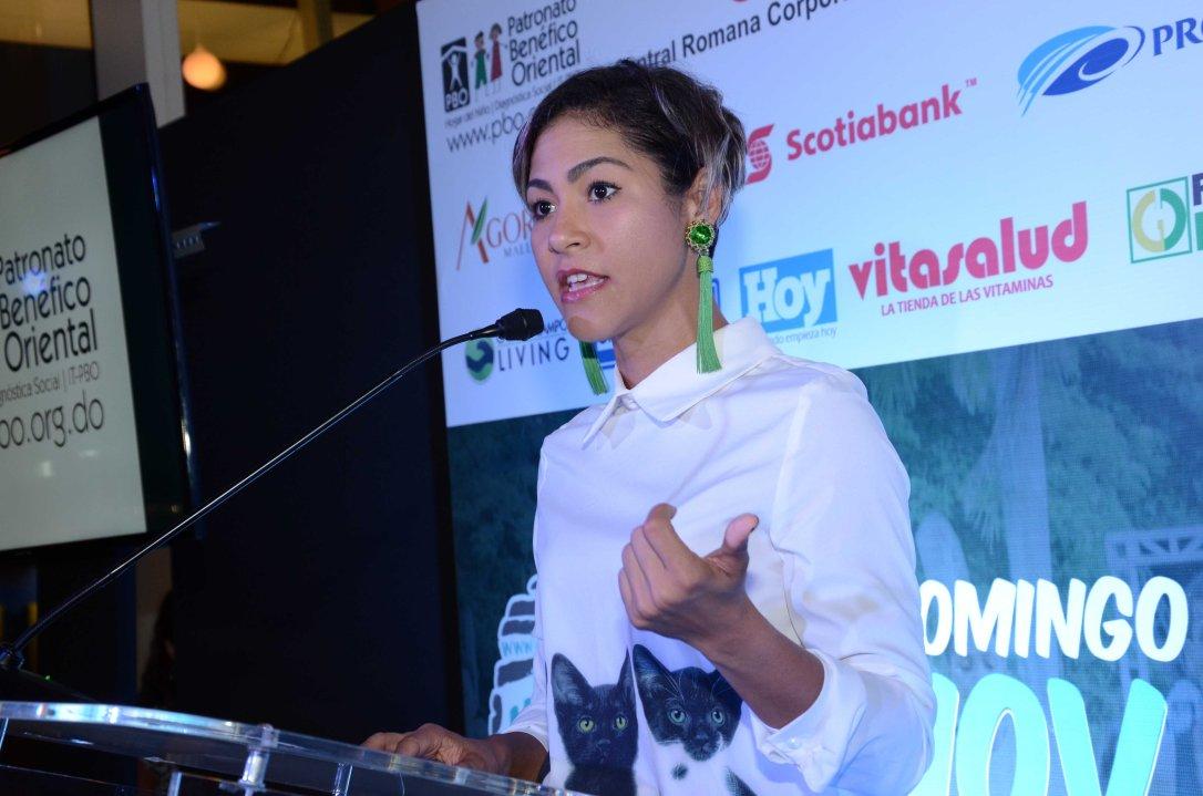 Karla Martin-Coordinadora Técnico del Maratón